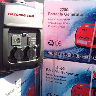 Бензинов генератор 2200i-2.0KW