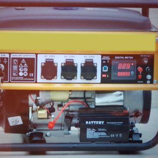 Бензинов генератор 3.5kw с дистанционно