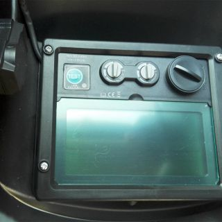 Автомотичен фотосоларен шлем Black