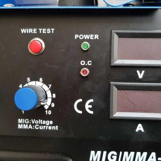 MIG-MMA 250P СО2+ЕЛЕКТРОЖЕН