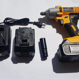 Ударен акумулаторен гайковерт 18V