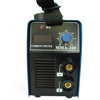 Инверторен електрожен IGBT-MMA 200 с дисплей