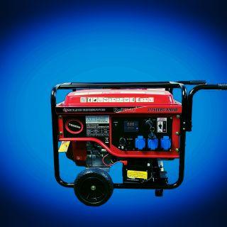 Бензинов генератор за монофазен ток 7.5Kw
