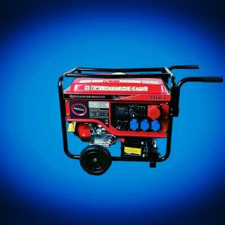 Бензинов генератор за монофазен и трифазен ток 9.0Kw
