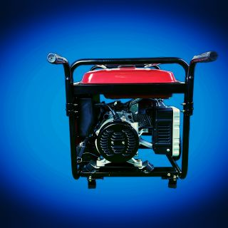 Бензинов генератор за ток 7.5kw монофазен с ATS