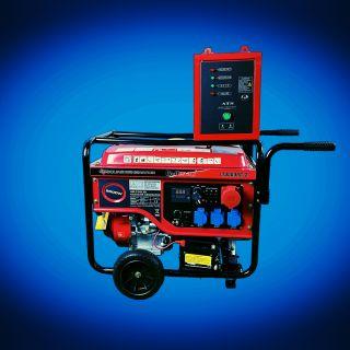 Бензинов генератор за монофазен и трифазен ток 9.0Kw с ATS