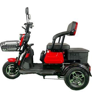 Електрическа двуместна триколка,скутер С-1 750W